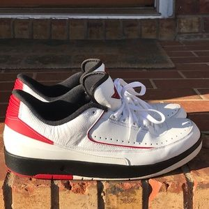 Air Jordan Retro 2 Low Chicago Bulls Size 12